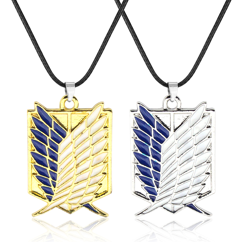 Anime Attack On Titan Scout Legion Bracelet Unisex Pendant Chain Bangle Cosplay