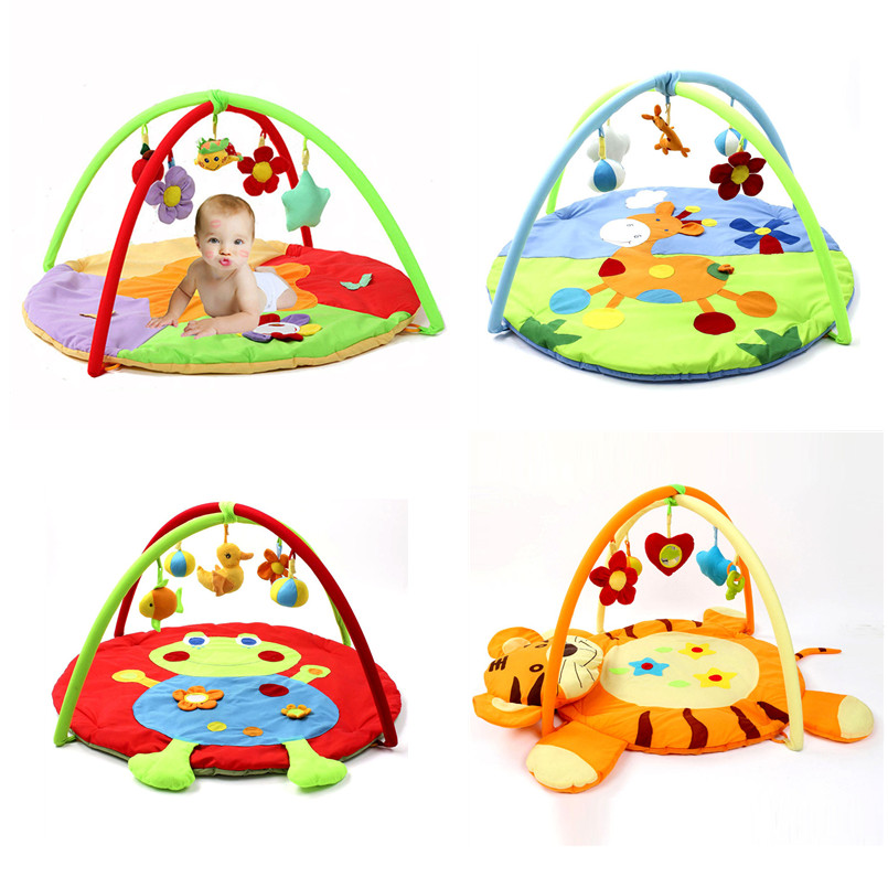 Soft Baby Mat Educational Rack Toys Baby Crawling/Gym Carpet Music Play Mat Infant Playmat For Kids Activity Tent Rug