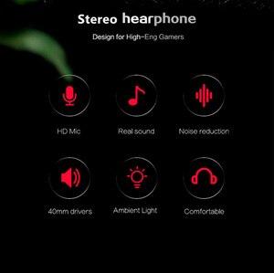 Image 3 - Cuffie da gioco cablate per PS4/cuffie per telefoni cellulari Mic cena Stereo Bass per Sony PlayStation 4 auricolare PS4