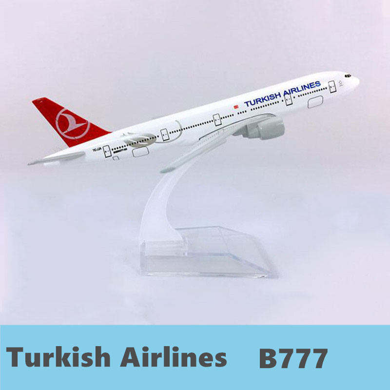 Legierung Metall Air Turkish Airlines <font><b>B777</b></font> Airlines Flugzeug Modell Boeing 747 400 Airways Flugzeug Modell Stehen Flugzeuge Kinder Geschenke 1 image