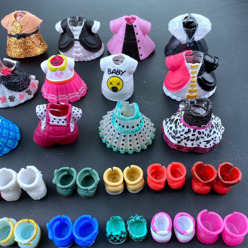 2pc Original Lols Clothes Shoes  For LOLs 8 Cm Big Sister Dolls Kid Birthday Gift Toy Hot Sale
