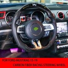 Voor Ford Mustang 2015, 2016, 2017, 2018, 2019 Carbon Fiber Racing Stuurwiel