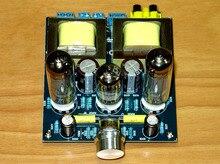 Najnowsza wersja aktualizacji wzmacniacz lampowy 6P14 wzmacniacz klasy A z pojedynczą końcówką wzmacniacz HiFi zestaw DIY, gotowa płyta 6N1 lub 6N2 push 6P14