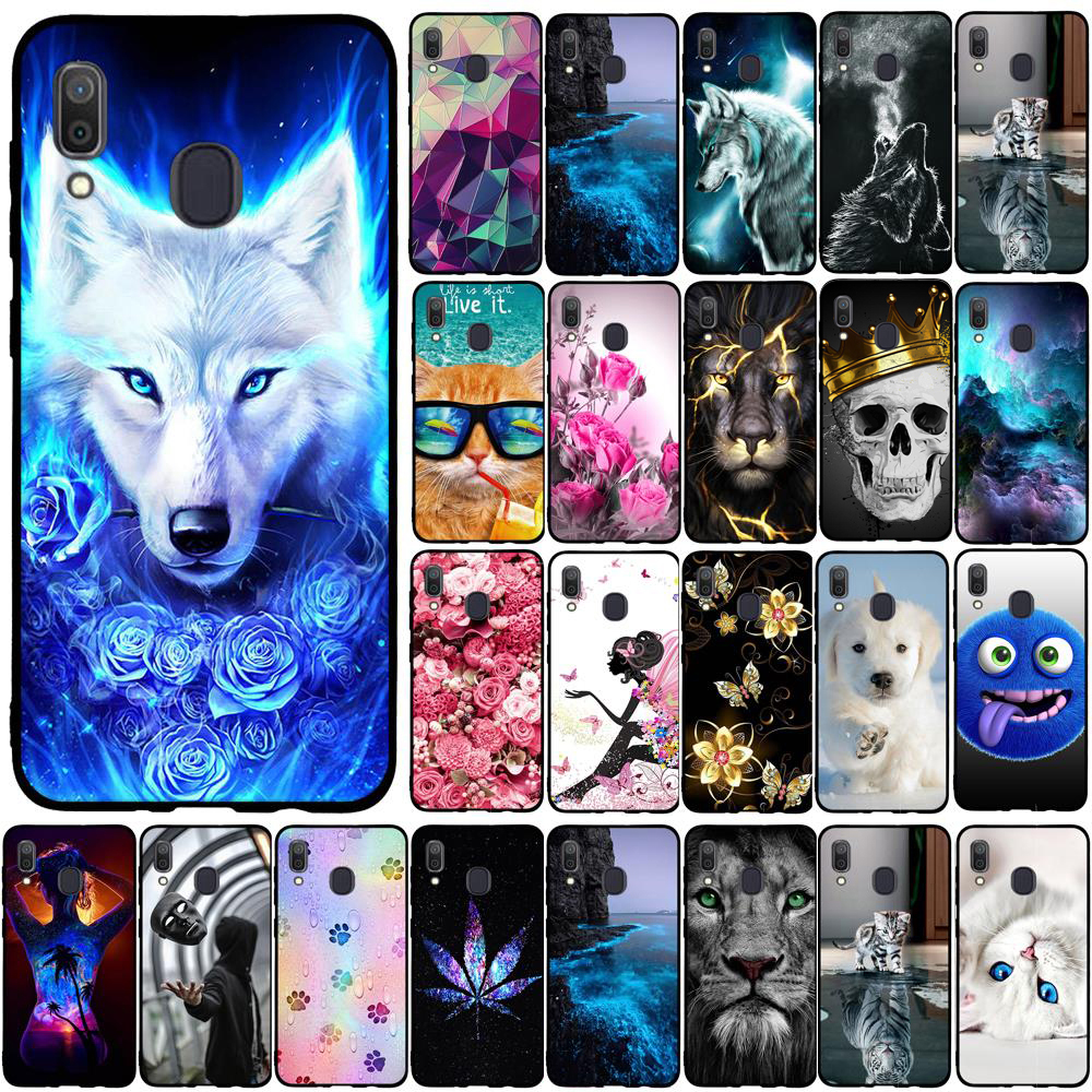 Case For Samsung Galaxy A50 A30 A20 A40 A70 A10 Case Silicone For Samsung Galaxy A10 Case TPU Back Cover For Samsung A40 Case image