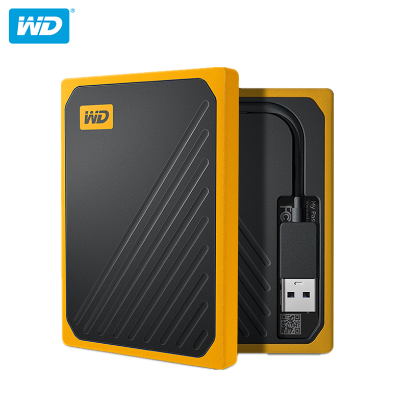 Original WD MY PASSPORT GO <font><b>2TB</b></font> 1TB 500G Solid State Hard Drive Disk 400MB/S High Speed for Laptop image