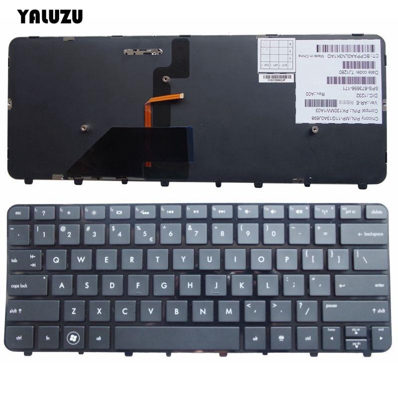 New US English Keyboard For HP Folio 13-1013TU 13-1014TU 13-1015 13-1015TU 13-1016 13-1000 13-2000 Backlit
