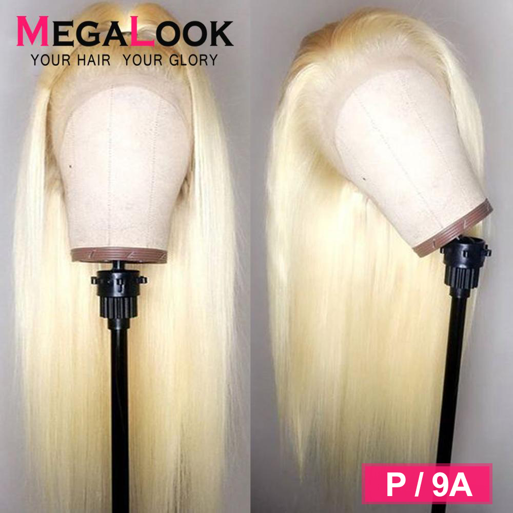613 Lace Front Wig Straight Wigs For Black Women Lace Wig Human Hair 30 Inch 613 Wig Remy Hair 180% Density Brazilian Wig