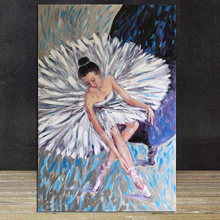 Ballet Dancer Oil Painting Posters Modern Wall Art Room Decoration Canvas Painting Unique Gift For Art Wall Home Decor big size canvas art painting handpainted oil painting modern home decoration dropship oil painting wall art picture room decora