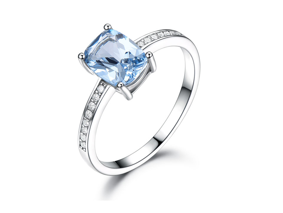 UMCHO Sky blue topaz silver sterling jewelry sets for women S011B-1-PC (3)