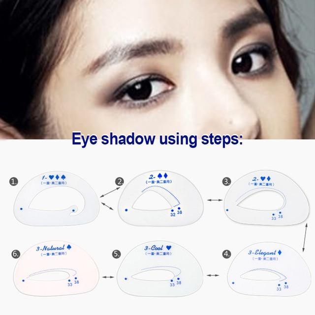 Eye Shadow Stencils Eyeshadow Models Eyeshadow Auxiliary Tools Tracing Shadow Card Draw The Eye Makeup Tools 4