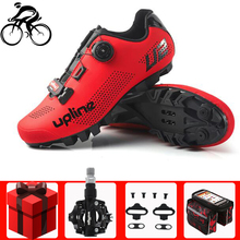 Cycling shoes men sapatilha ciclismo MTB mountain bike shoes cycling bicycle sneakers women professional self-locking breathable santic cycling mtb bike bicycle men shoes breathable mountain bike bicycle equipment self locking tpr pu shoes with free socks