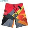 New arrive Mens Shorts Surf Board Shorts Summer Sport Beach Homme Bermuda Short Pants Quick Dry Silver Boardshorts 2018 New 1