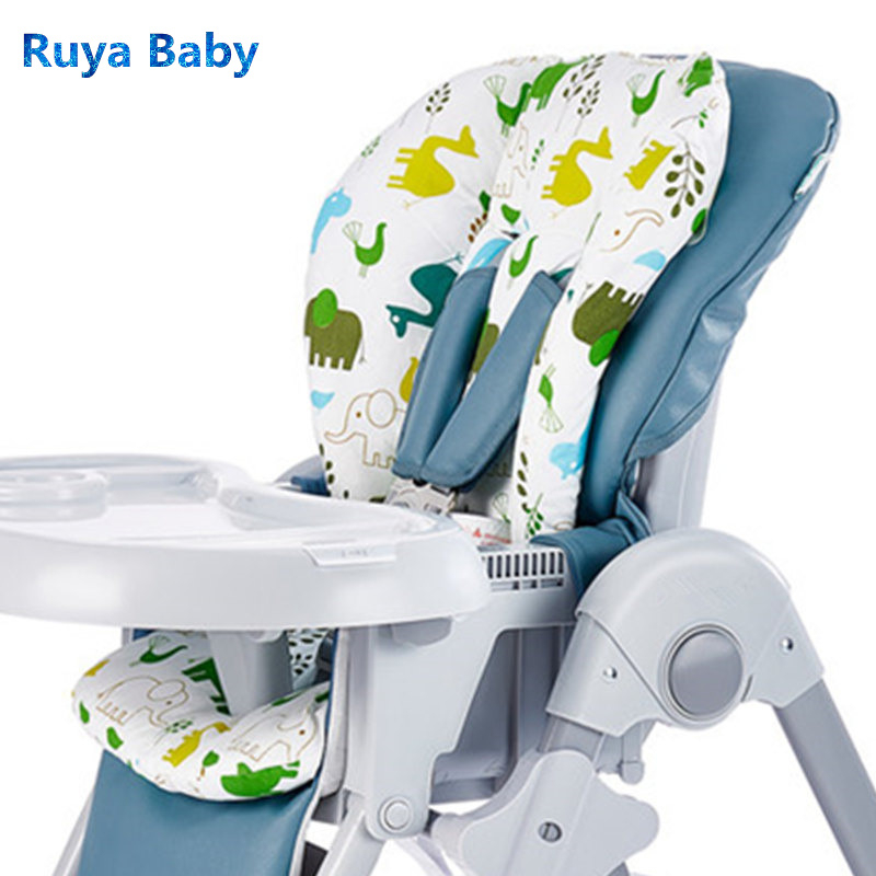 Kids Cushion Chair Heightening Cushion Carton Memory Cotton Booster Cushion Portable Thickening Adjustable Highchair For Baby