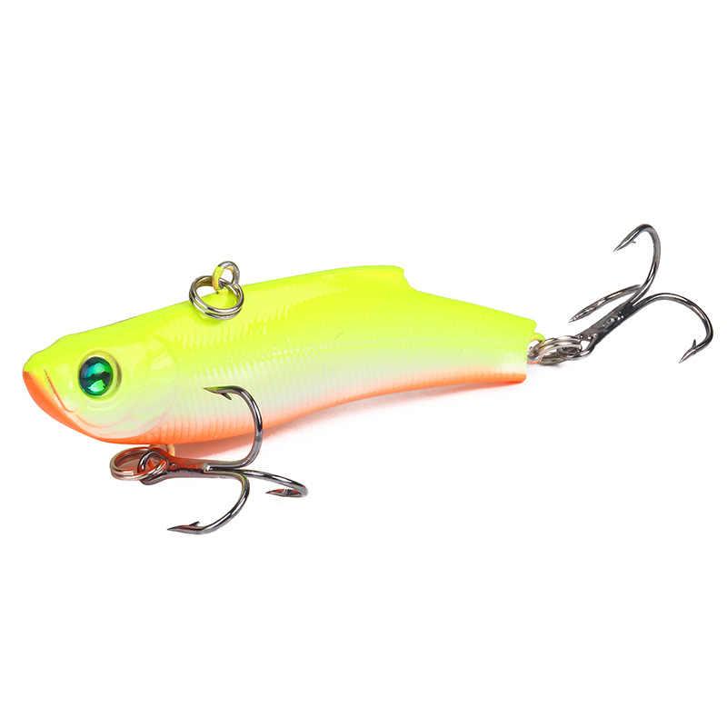 1PCS VIB Fishing Lure Lead Swim Minnow Wobbler Hard Bait70mm18g Artificial Crank
