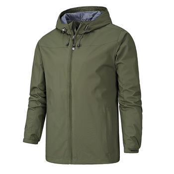 2021 NEW Ranger Cntr autumn winter sailing hiking Outdoor Hooded Windproof Jacket Men Top Quality Soft Asian size image