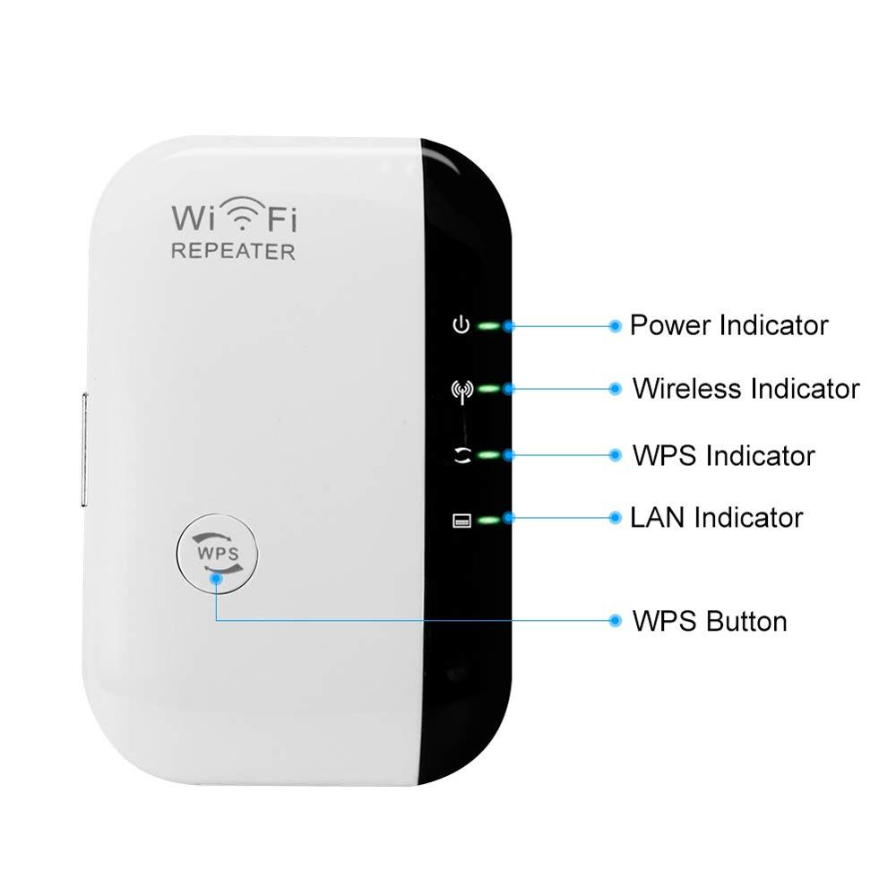 Wifi Repeater Wifi Signal Amplifier Wifi Range Extender 300 Mbps Wi fi Booster Wireless Wi-fi Repeater 802.11n WPS Access Point 3