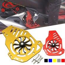 غطاء حماية شواية ألومنيوم لهوندا PCX150 PCX125 PCX 150 125 ، ملحقات دراجة نارية CNC