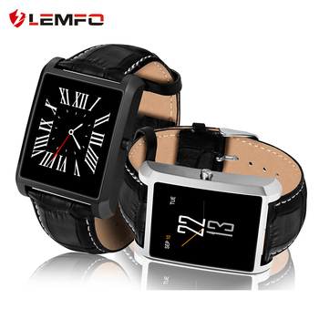LEMFO Smart Watch Men Bluetooth Call Stainless Steel 15 Days Standby 240*240 Heart Rate Monitor Smartwatch For Android iOS 1