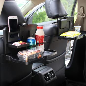 Uchwyt samochodowy stojak DeskTable kierownica jedz wózek roboczy napój jedzenie kawa towary tacka samochód Laptop biurko stół tanie i dobre opinie CN (pochodzenie) Półki