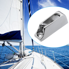 Boat Cam Cleat knagi na liny Jam Cleat Line Cleat Fit 3 6mm lina 316 stal nierdzewna sprzęt morski łódź kajak akcesoria Marine