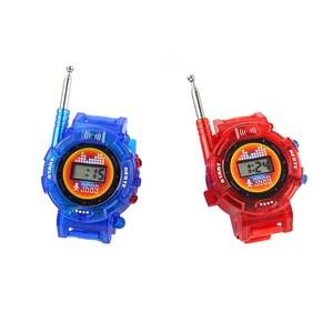 7 In 1 Walkie Talkies Watch Electronic Radio Interphone Watch Kids Outdoor Toy Gift Child Game Gadget Transformer Watches