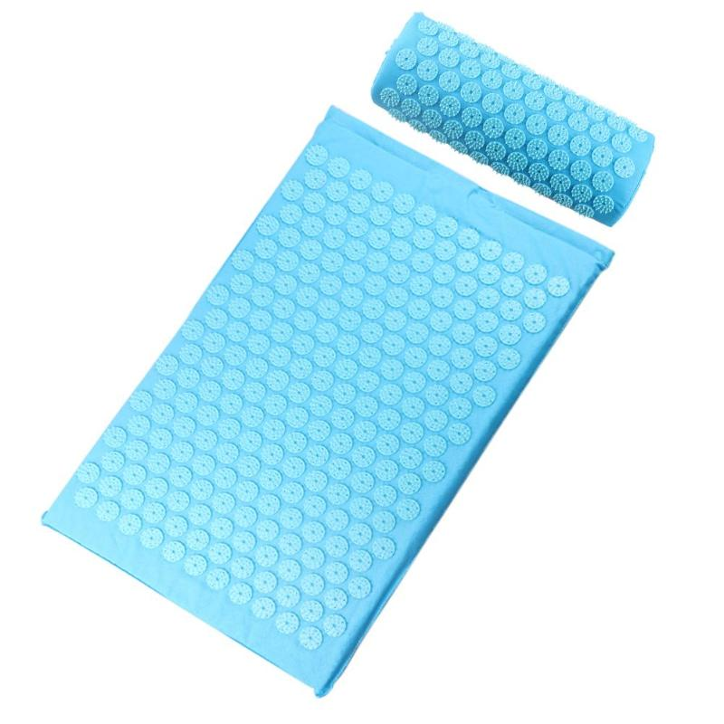 Acupressure Massage Mat with Pillow set to body Relaxation to Release Stress and Tension 54
