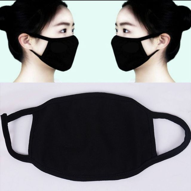 1PC Fashion Adult Cotton Anti Haze Smog Mouth Dust Mask Cute Print Bacteria Proof Flu Face Mask for Women and Men 4