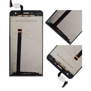 Image 4 - Originele Voor Asus Zenfone 5 Lite A502CG T00K Lcd Touch Screen Digitizer Vergadering Voor Asus A502cg Display Met Frame Vervanging