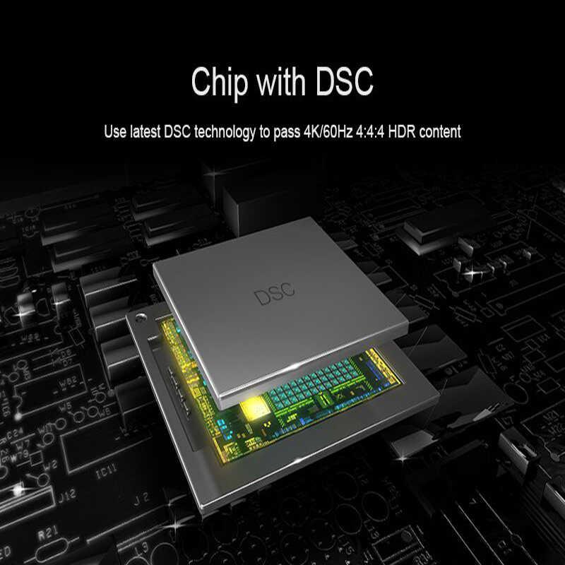 Extensor de hdmi 2020 4k 60hz, suporte de 50m, 18gbps e saída de loop, com ir transmissor e receptor 4k hdmi para rj45