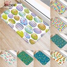 Beautiful Egg Floor Mat, Family Bedroom Leisure Mat, Flannel Thick Door Mat, Decorative Door Mat, Bathroom Floor Mat 40x60cm  ..