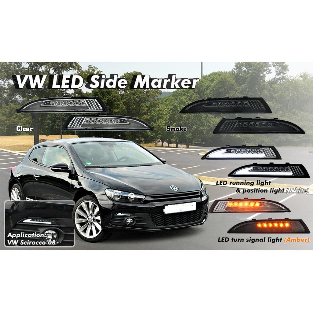 VW светодиодный указатель поворота для VW Scirocco 2008 2013