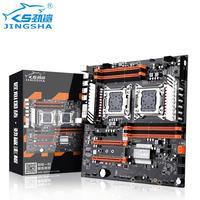 Jingsha X79 Dual CPU Motherboard LGA2011 SATA3.0 E ATX M.2 DDR3 Mainboard