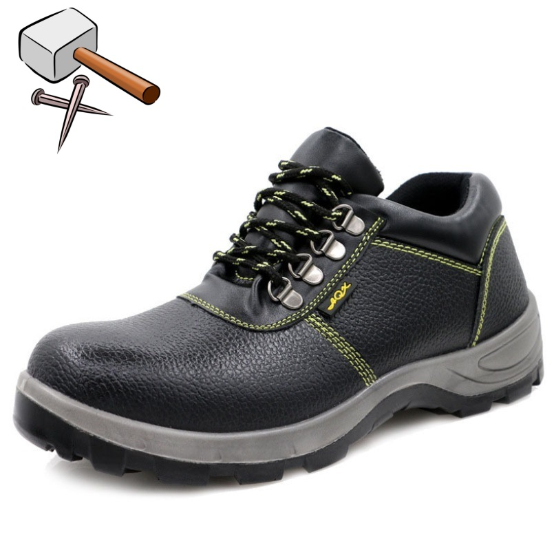 New Mens Womens Safety Trainers Shoes Boots Work Steel Toe Cap Hiker Ankle Size