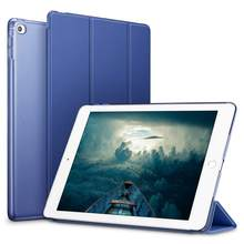 Tablet Smart Fall für iPad 10,2 inch 2019 7th Gen Abdeckung, auto Schlaf/Wake Folding Folio Fall für iPad 7th 10,2 zoll 2019 Funda(China)