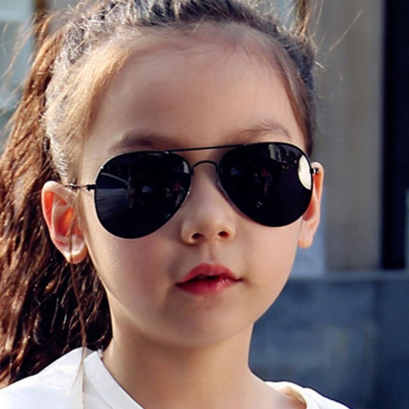 New The Pilot Fashion 2020 Baby Kids Sunglasses Boys Girls Children Sunglasses Uv400 Oculos De Sol Feminino