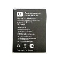 New 100% High Quality 2500mAh battery For BQ BQ-5500L BQS-5500L ADVANC Accumulator+ Track code