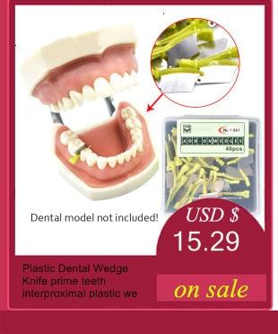 Nova coleção dental planta ferramenta 3mm 4mm 5mm cuidados orais