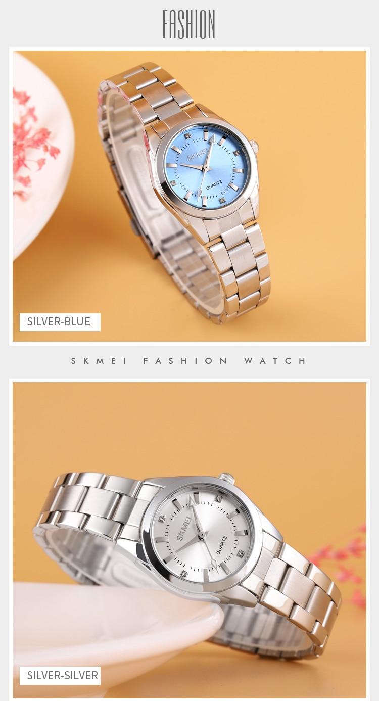H30f0d88c76f3421fa151b8dd275eb035J 2020 SKMEI Casual Women Romantic Quartz Watches Luxury Female Girl Clock Waterproof Ladies Wristwatches Relogio Feminino 1620