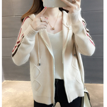 Short Cardigan Female 2019 Autumn Women Long Sleeve Cardigan