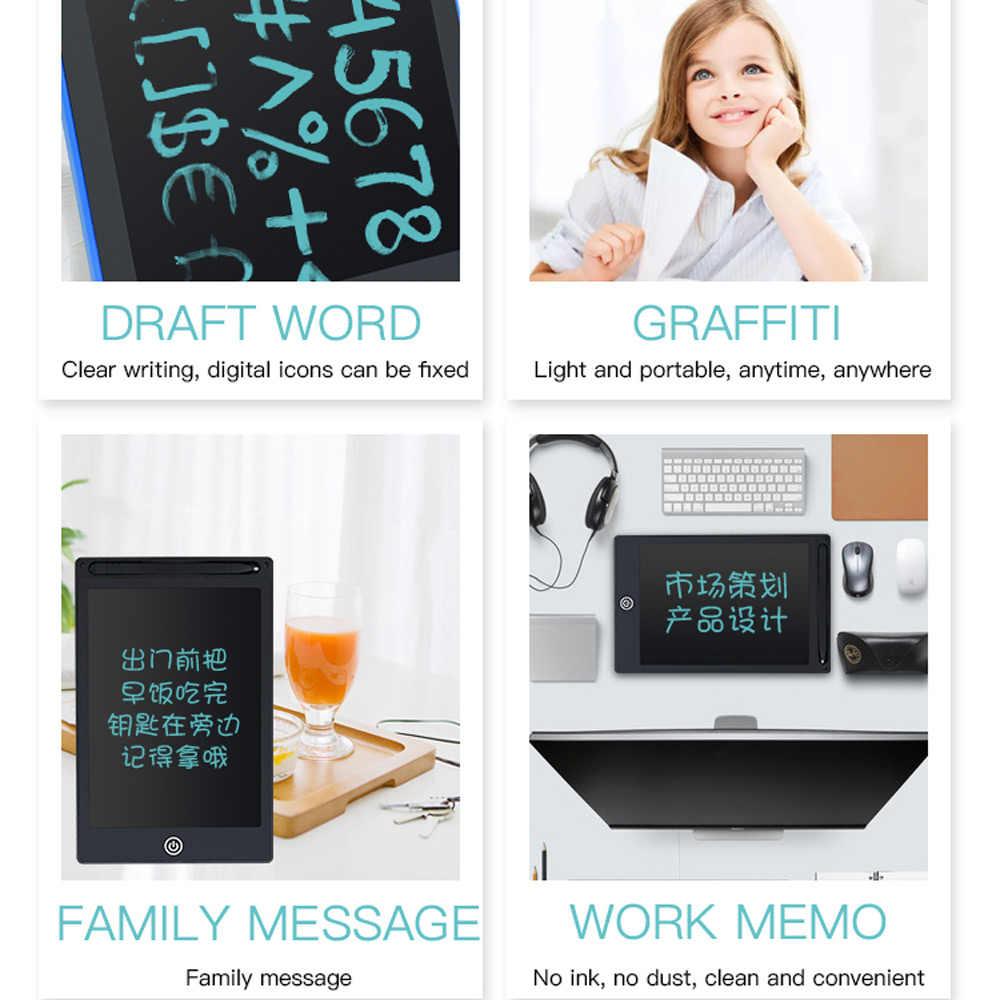 """TISHRIC ציור Tablet Stylus הדיגיטלי גרפי לוח LCD לוח כתיבה אלקטרוני מחיק 8.5 """"/4.4"""" אינץ צעצועי עבור ילדים ילדים"""