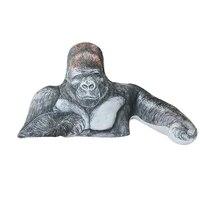 1pc 90cm huge size cartoon Big mouth monkey plush toy the Gorilla Diamond plush doll stuffed pillow for children playmates toy