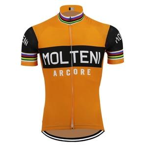 Image 5 - גברים קצר שרוול רכיבה על אופניים ג רזי ropa Ciclismo אופניים ללבוש ג רזי רכיבה על אופניים ביגוד מאיו חיצוני אופניים בגדים