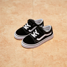 Осень, новая детская парусиновая обувь, кроссовки для девочек, дышащие весенние модные детские туфли для мальчиков, повседневные туфли студенческие