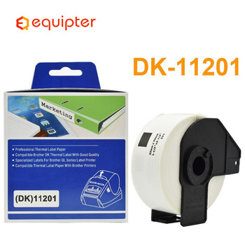 DK11201 Thermal Paper Roll Shipping Label Compatible for Brother QL Label Printers phd20 2278 01 thermal printhead for data ma o neil i 4212e i 4212 i4212 mark ii barcode printers 203 dpi new compatible