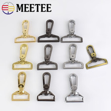 5/10pcs 25/32/38mm Metal Bag Buckle Swivel Trigger Clips Buckles Dog Collar Key Chain Clasp Snap Hooks DIY Handbag Hardware E6-2