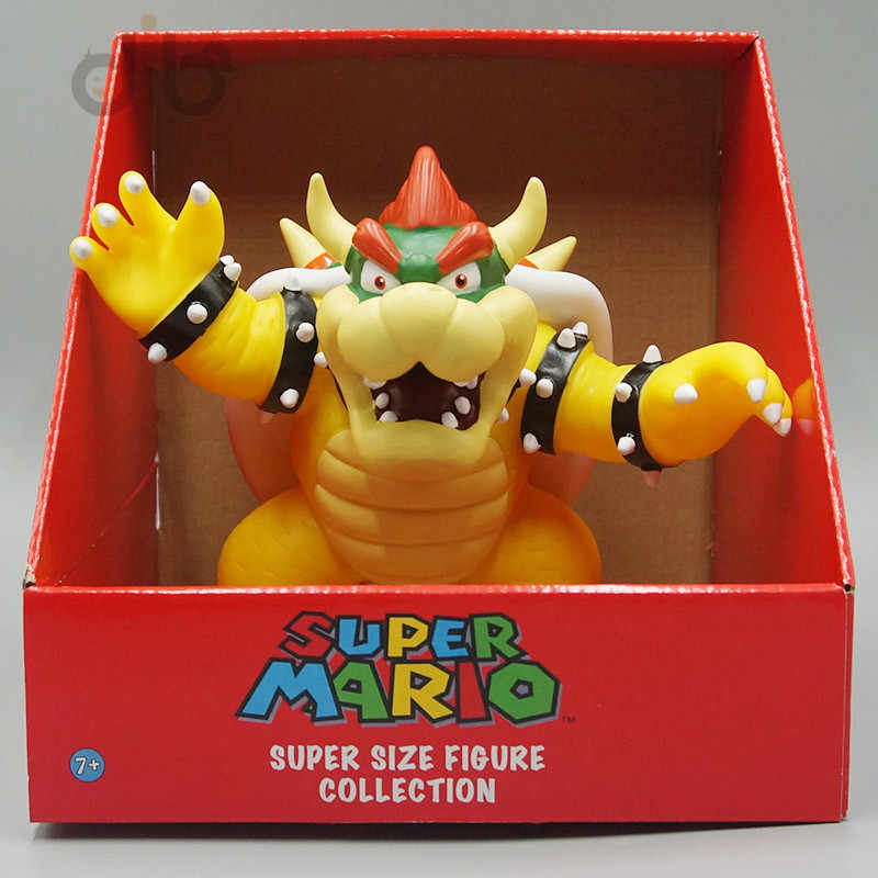 Super Mario Bros Bowser PVC Action Figure Model Toy SMFG230 Free Shipping