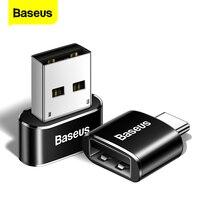 Adattatore OTG USB tipo C Baseus convertitori cavo USB C maschio a Micro USB femmina per Macbook Samsung S20 Xiaomi USB a type-c OTG