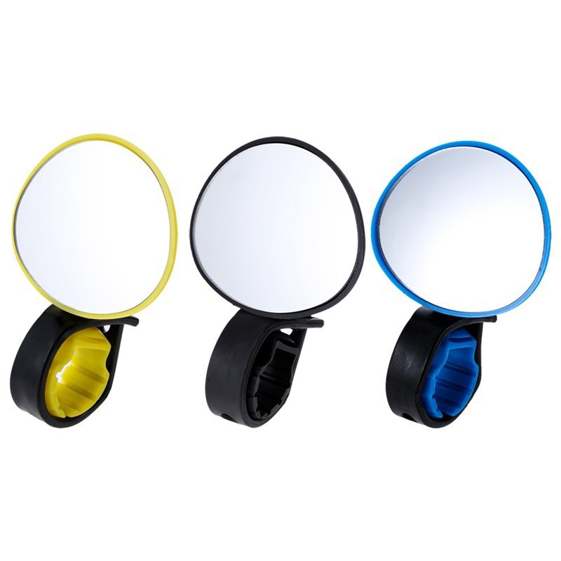 Universal Adjustable 360 Degree Rotate Cycling Bike Handlebar Rear View Mirror Bicycle Safe Rearview Mirror
