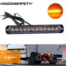 10 шт.! 12 Светодиодный грузовик strobelight поверхностного монтажа решетка предупреждение свет multivolt