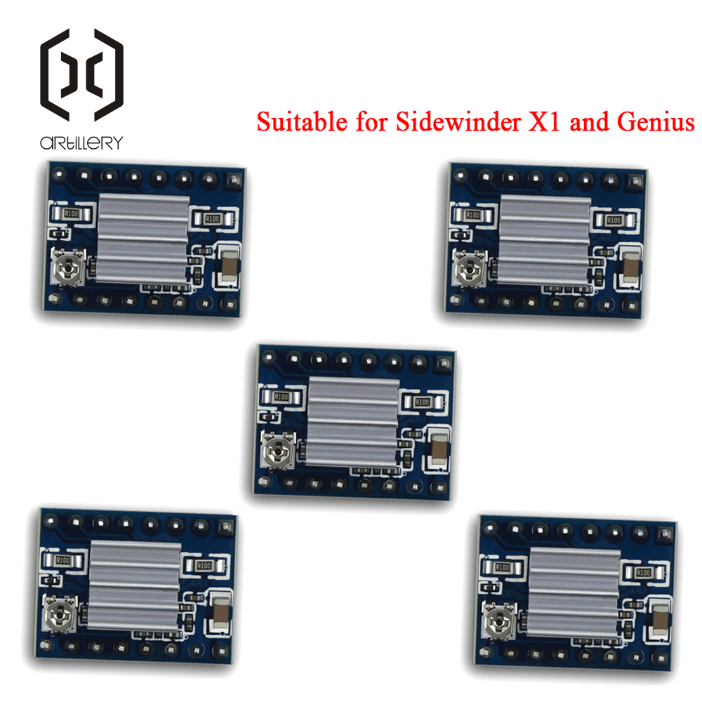 Motor Driver With Radiator For Artillery 3D Printer Sidewinder X1 And Genius
